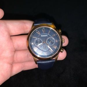Fossil stainless steel watch